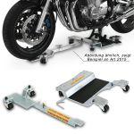 Rangierhilfe / Rangiersystem 2012 f�r Motorr�der mit Hauptst�nder / Komplettaufnahme
