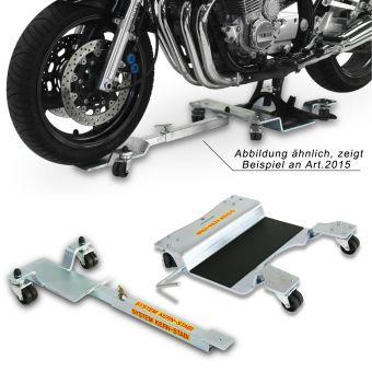 Rangierhilfe / Rangiersystem 2012 für Motorräder mit Hauptständer / Komplettaufnahme