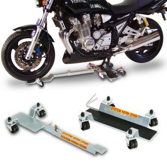 Rangierhilfe / Rangiersystem 2012N für Motorräder mit Hauptständer / Komplettaufnahme