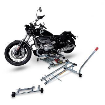 Hubtisch / Hydraulik-Heber / Hebebühne max.500kg inkl. Adapter X518 SPEZIAL-Adapter & Montageständer passend für alle BMW R18 Modelle