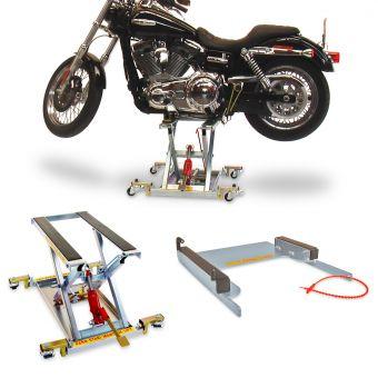 Hubtisch / Hydraulik-Heber / Hebebühne max.500kg inkl. Adapter