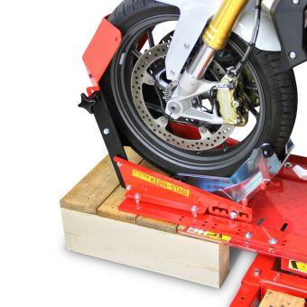 Radwippenhalterung für Montage an Hebebühne X601-ECO